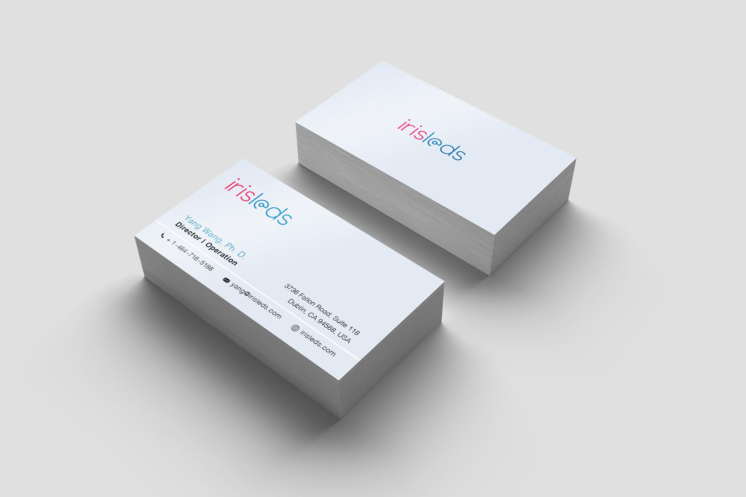 Business-Cards-Simulation_Iris-Leds
