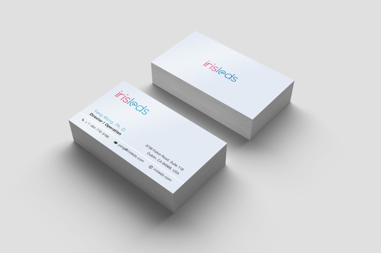 Business-Cards-Simulation_Iris-Leds